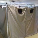 elektromágneses sugárzást árnyékoló sátor